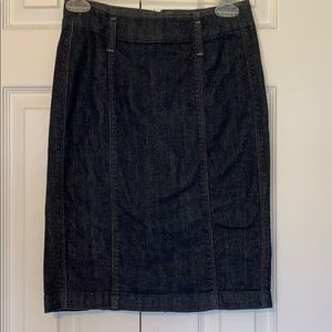 Banana Republic denim pencil skirt